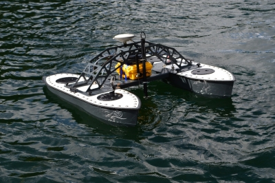 Inception MKI with CEE HydroSystems Single Beam Echo Sounder