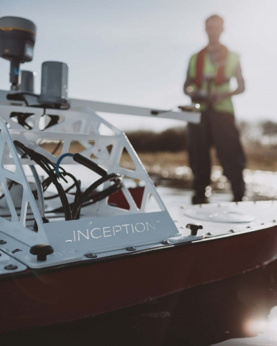 USVs fitted with a multitude of payload equipment for hydrographic, environmental, inspection and reconnaissance works.