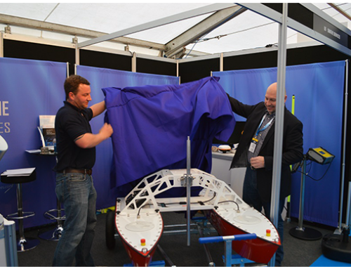 Inception Mark II USV launched at Ocean Business