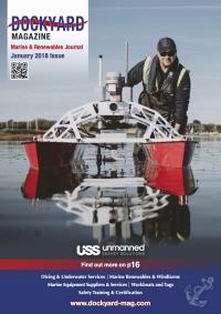 dockyard magazine front cover USS