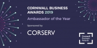 Cornwall business awards ambassador of the year award