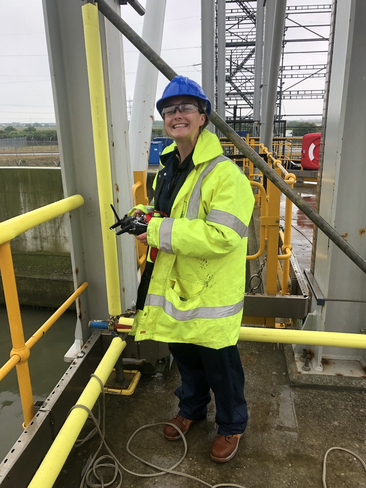 Nicola Woodley - Hydrographic Surveyor