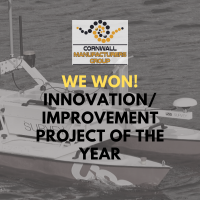 We won the Cornwall Manufacturing awards Innovation award 2019
