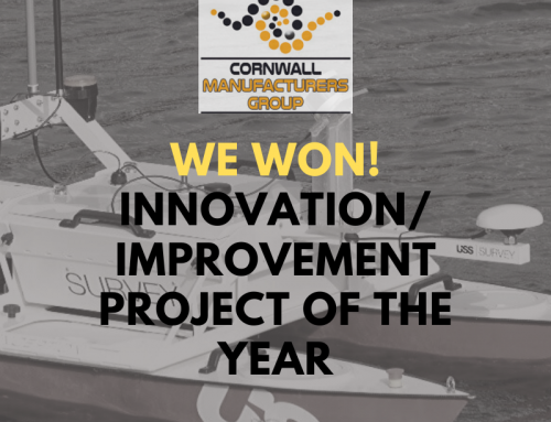 USS wins the award for Innovation at the CMG Awards