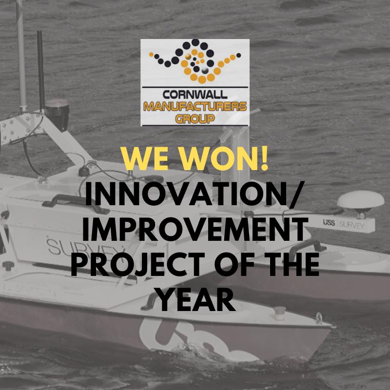 We won the Cornwall Manufacturing awards Innovation award 2019