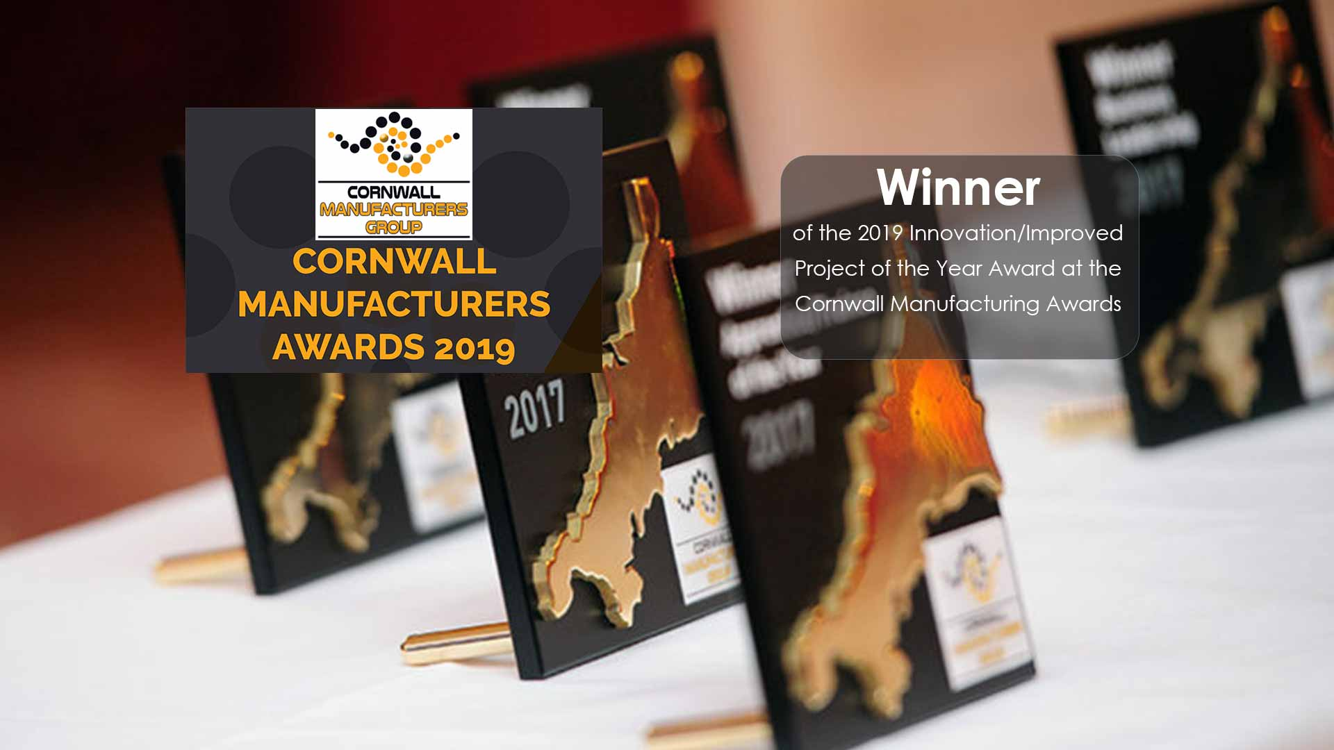 Cornwall Manufacturing Awards Winner
