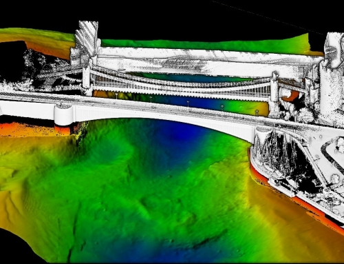 USS conduct high-resolution bathymetry and mobile laser scan survey in Conwy River